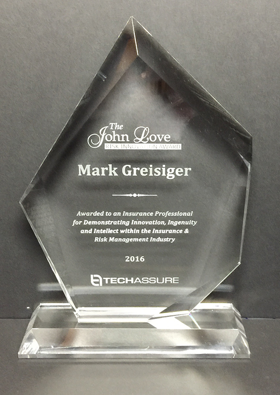 2016 John Love Risk Innovation Award